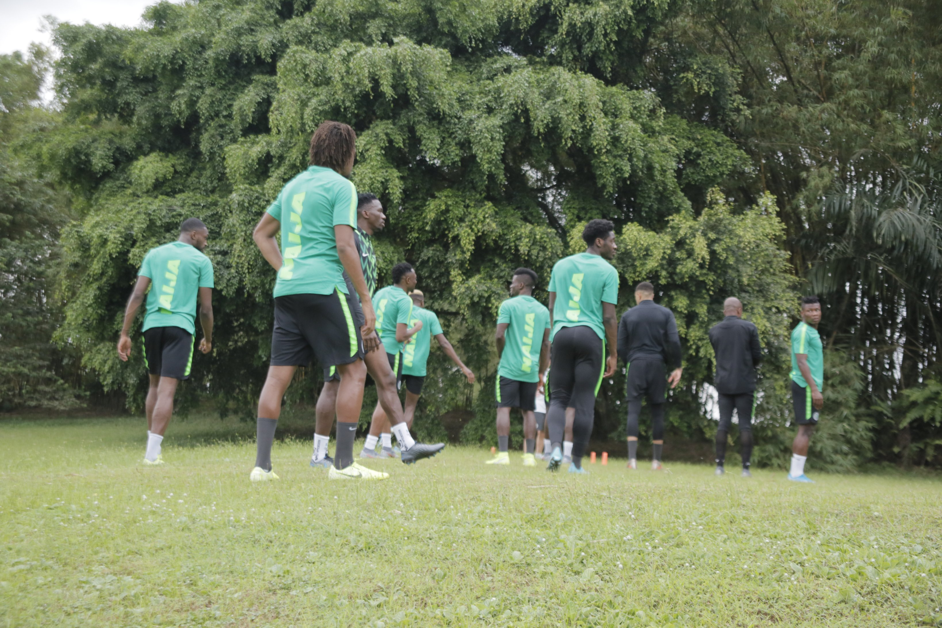 Super Eagles continues preparation ahead clash with Benin Republic