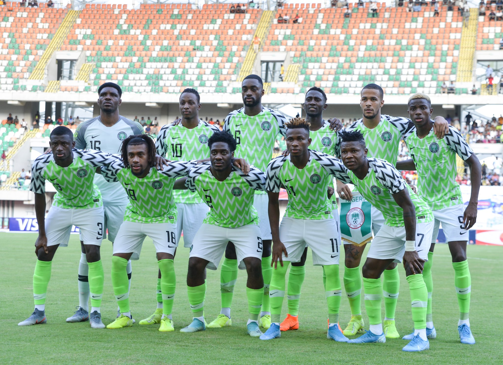 Ekpo pleads for patience with new look Eagles