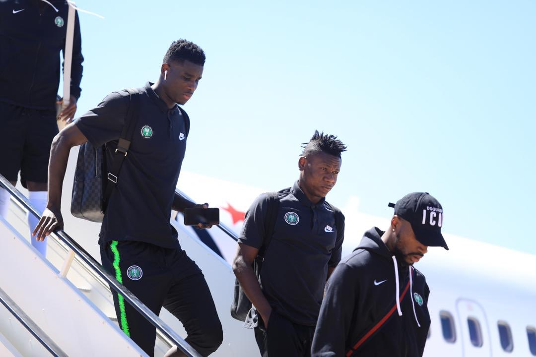 JUST IN – Super Eagles land in Maseru for AFCON qualifier against Lesotho