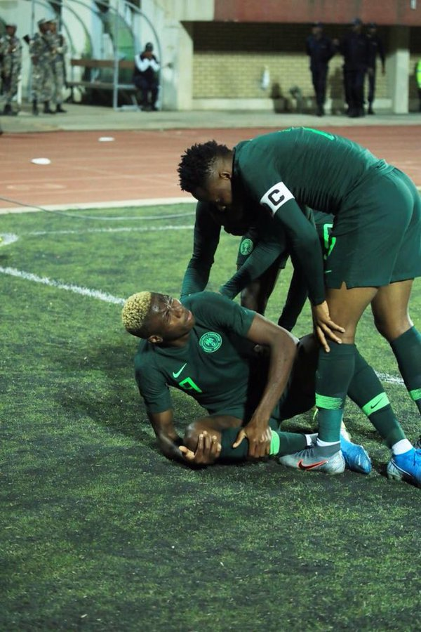 Musa urges Gernot Rohr to keep faith with current young sqaud