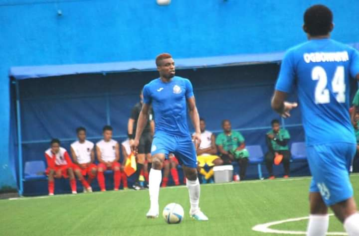 Anaemena replaces Idowu as Eagles get set for Squirrels