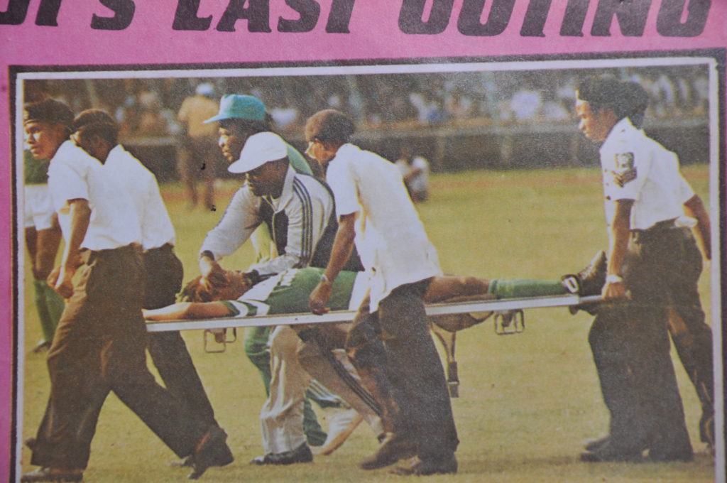 National Stadium Ambulance failed to start? How Super Eagles midfielder Slumped and pronounced dead