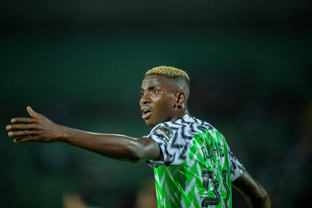 Ighalo hails 'incredible talent' Osimhen after beautiful showing against Lesotho