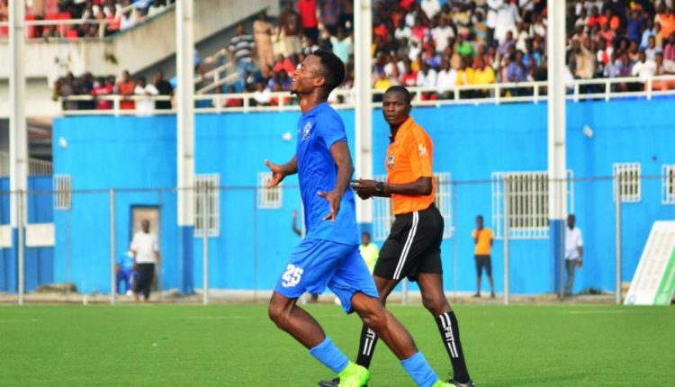 Mbaoma happy to rescue a point for Enyimba against Lobi