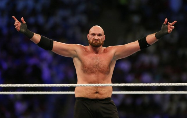 Fury defeats Braun Strowman in his WWE debut match
