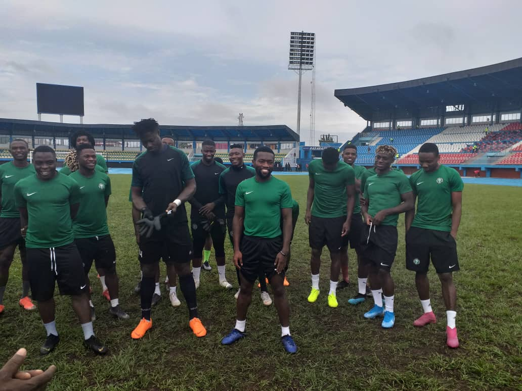 Abubakar targets good performance and victory with U23 Eagles in Egypt