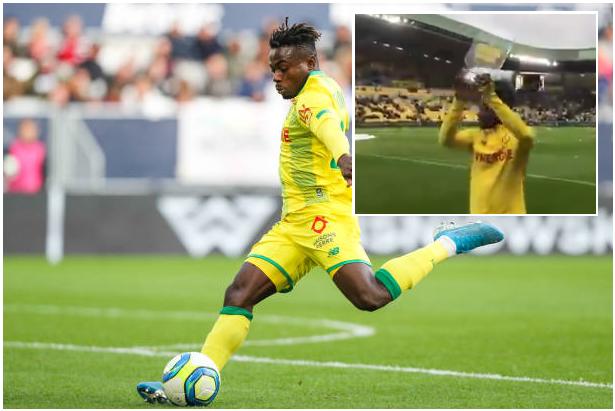 Moses Simon Wins Nantes Player Of The Month Award