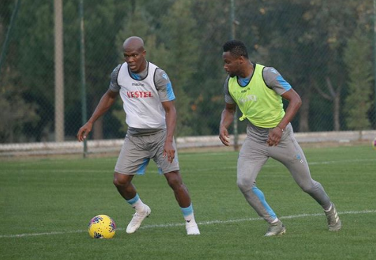 Onazi, Mikel Back in Full Training with Trabzonspor