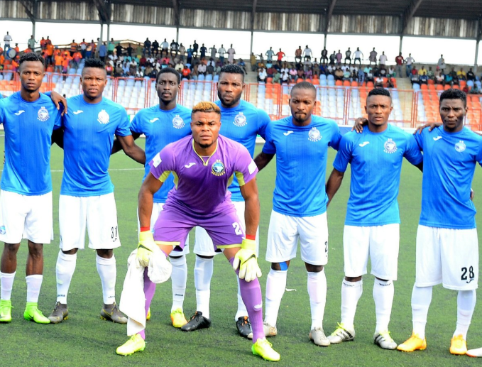 Ojo returned to Akure, Fans Cheered but former Teammates spoil the Party for Enyimba Midfielder
