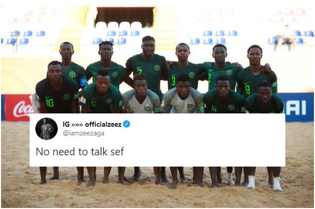 Cryptic Abu Azeez Tweet reveals Star's Frustration with Quality of Eagles World Cup Squad