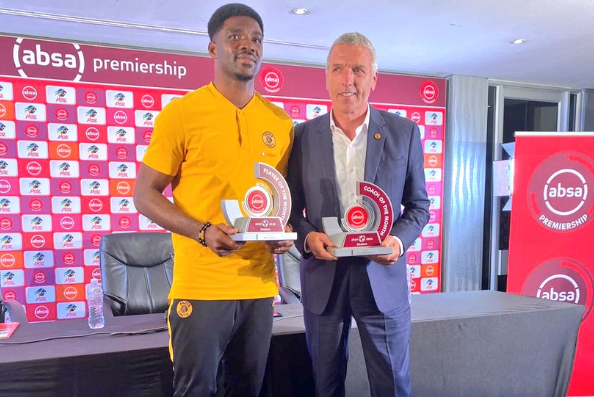 Player of the month award delights Akpeyi
