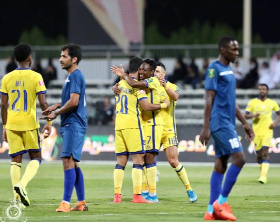 Musa Scores A Brace For Al Nassr' Against Afif Club