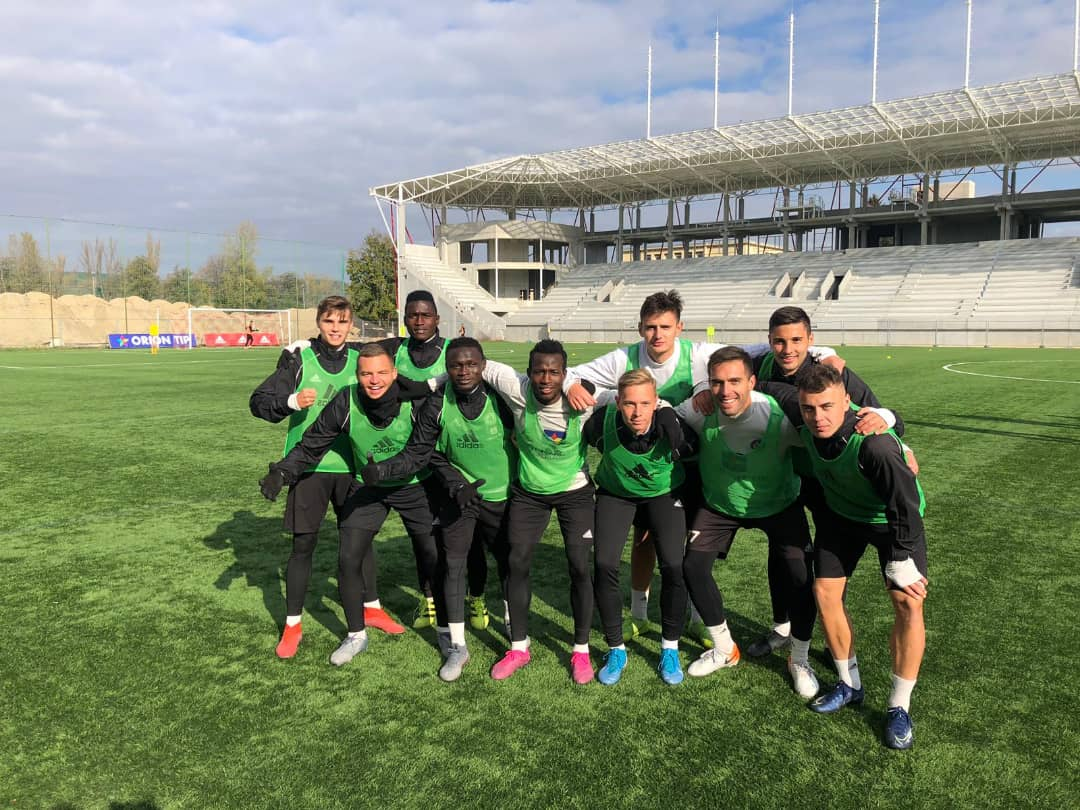 Ahmad Ghali wants to surpass Kalu, Moses AS Trencin feat
