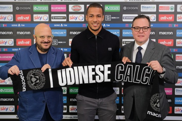 """Udinese Holds Firm to """"Charismatic"""" Ekong, Hands Super Eagles CB Lucrative, Long term Deal"""