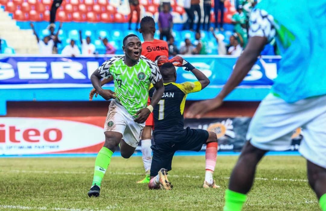 Ibrahim goes Spiritual on U23 Eagles tie against Zambia