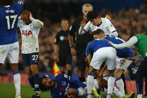 Iwobi's Howler, André Gomes' Injury! Everton's House of Horror show against Tottenham