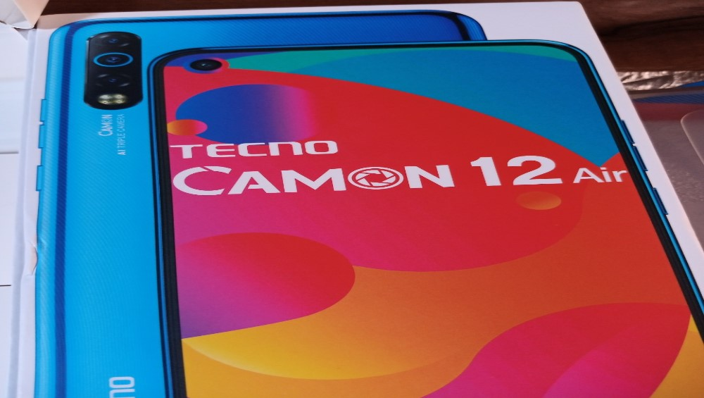 CAMON 12 AIR HAS IT ALL!