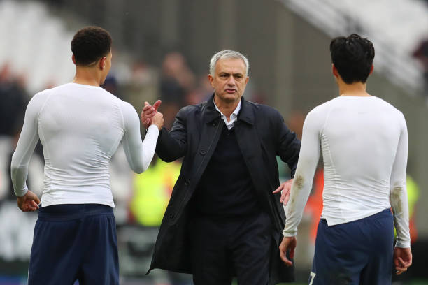 Mourinho shun questions on Spurs contract rebels