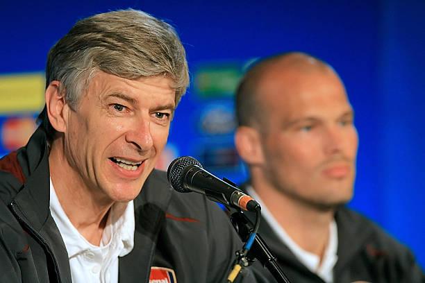 Two Years ago Wenger prepared Fredrick Ljungberg as His Arsenal Successor