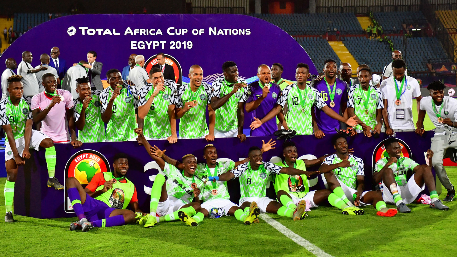 Super Eagles Shares 2019 AFCON Prize Money