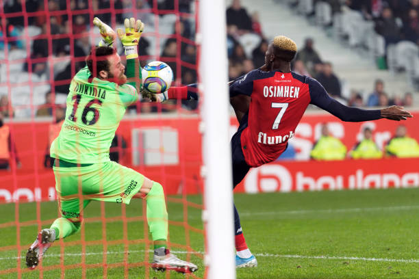 Lille Manager Galtier admits Osimhen's departure possible