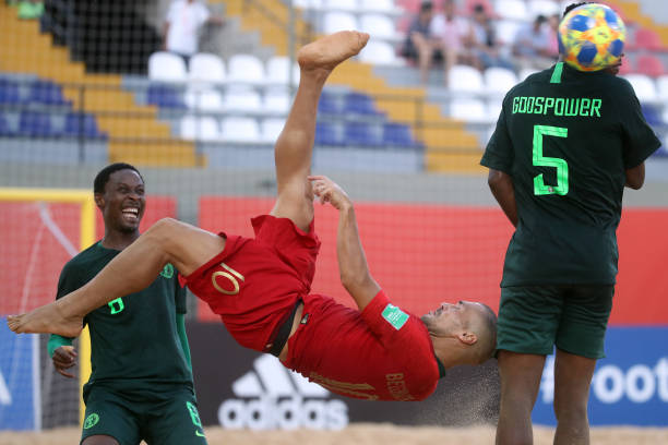 Sand Eagles Collapse in 10-1 Routing to Portugal in World Cup Opener