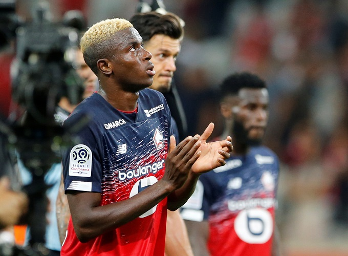 Osimhen benched in Lille's defeat to Chelsea at Stamford bridge