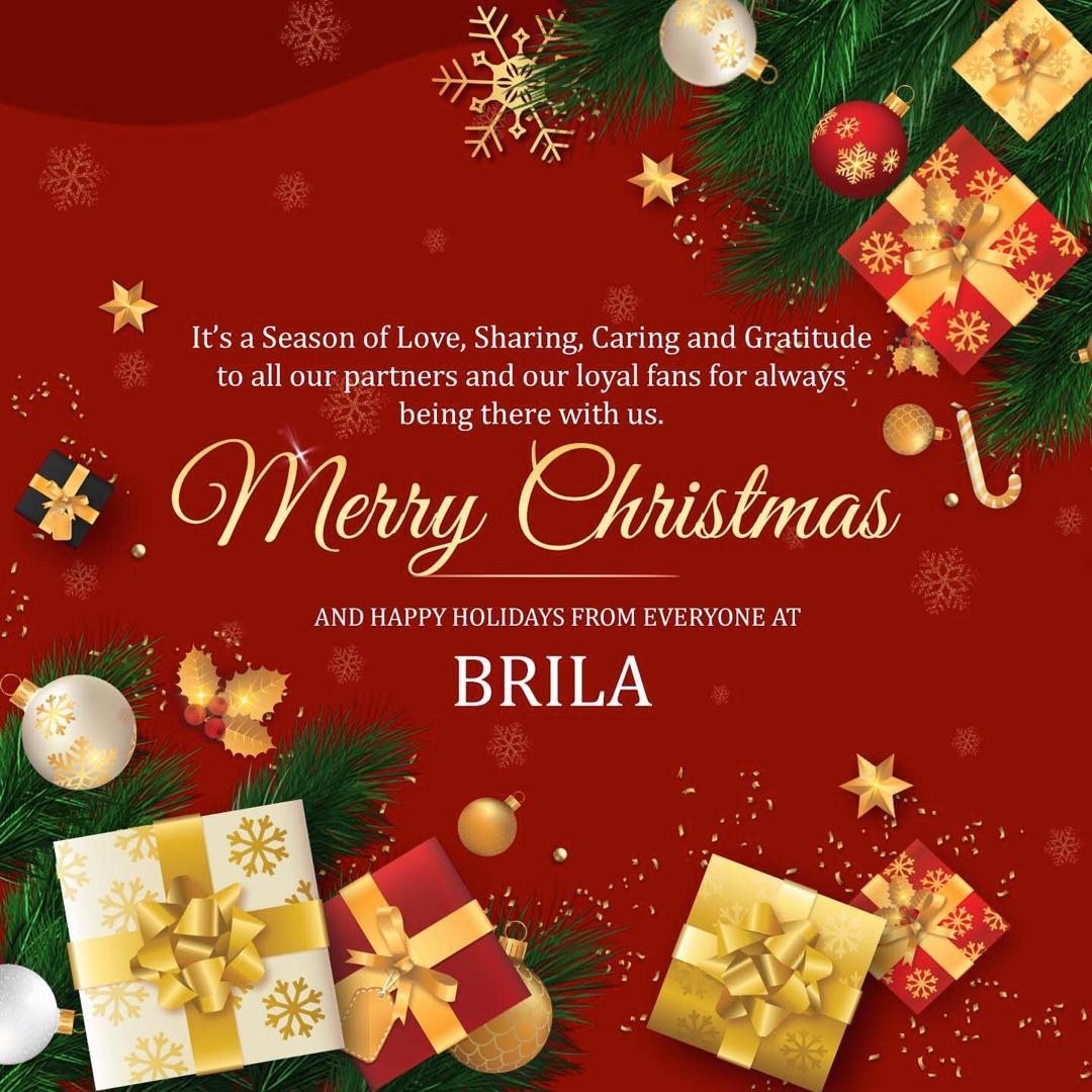 Merry Christmas from all of us at Brila Media
