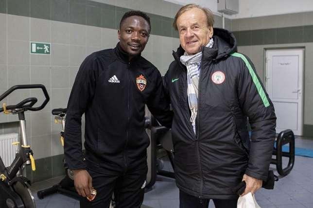 Skipper Musa backs Rohr to continue as Super Eagles coach