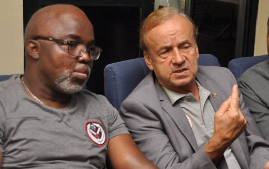 Pinnick blasts Rohr for lack of professionalism