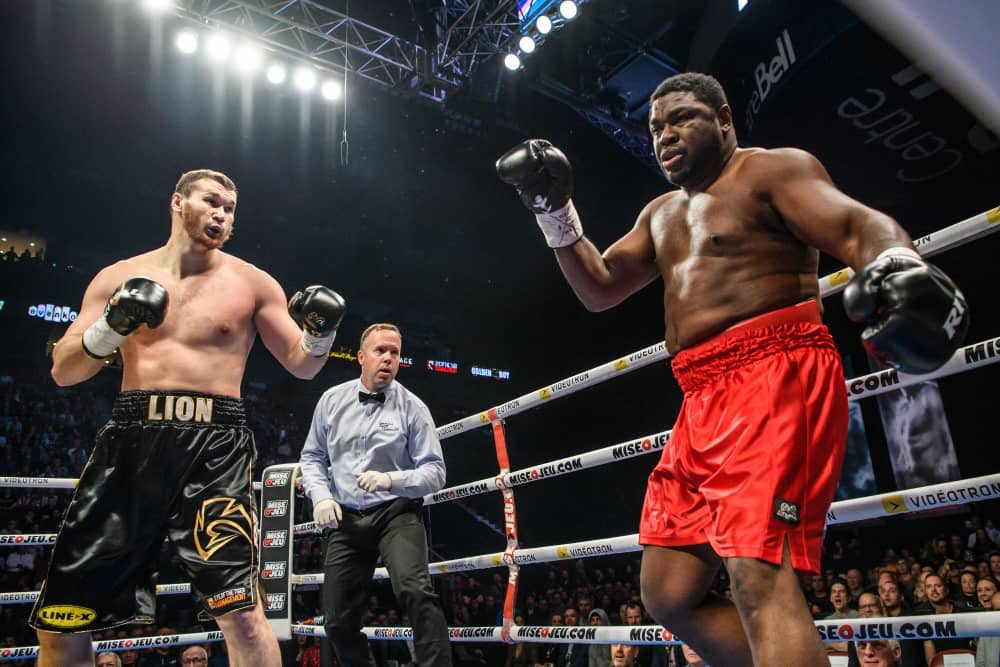 How Samuel Peter's embarrassing first round loss overshadowed by Anthony Joshua's win
