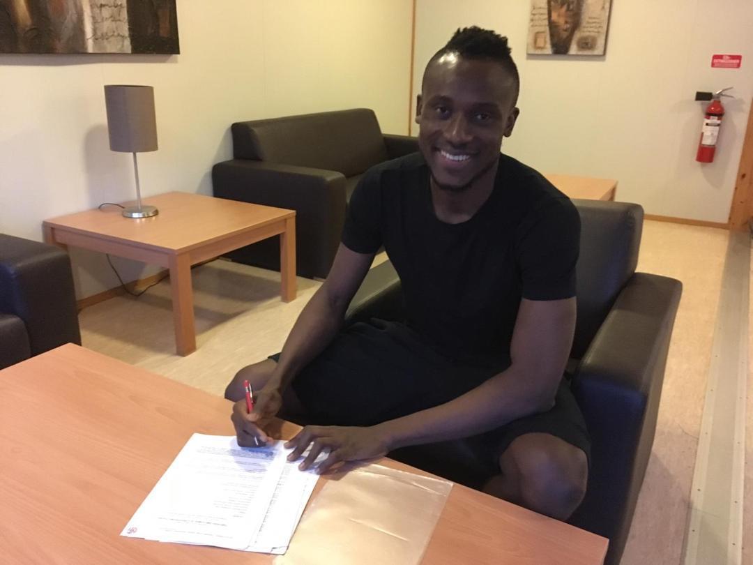 Nigerian defender Udeh Christopher signs for Norwegian Club Nest Sotra