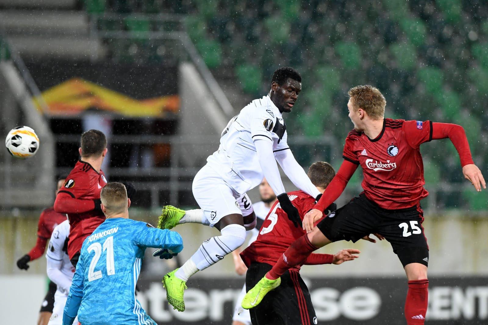 Former Sunshine stars striker Sasere happy with Europa league debut