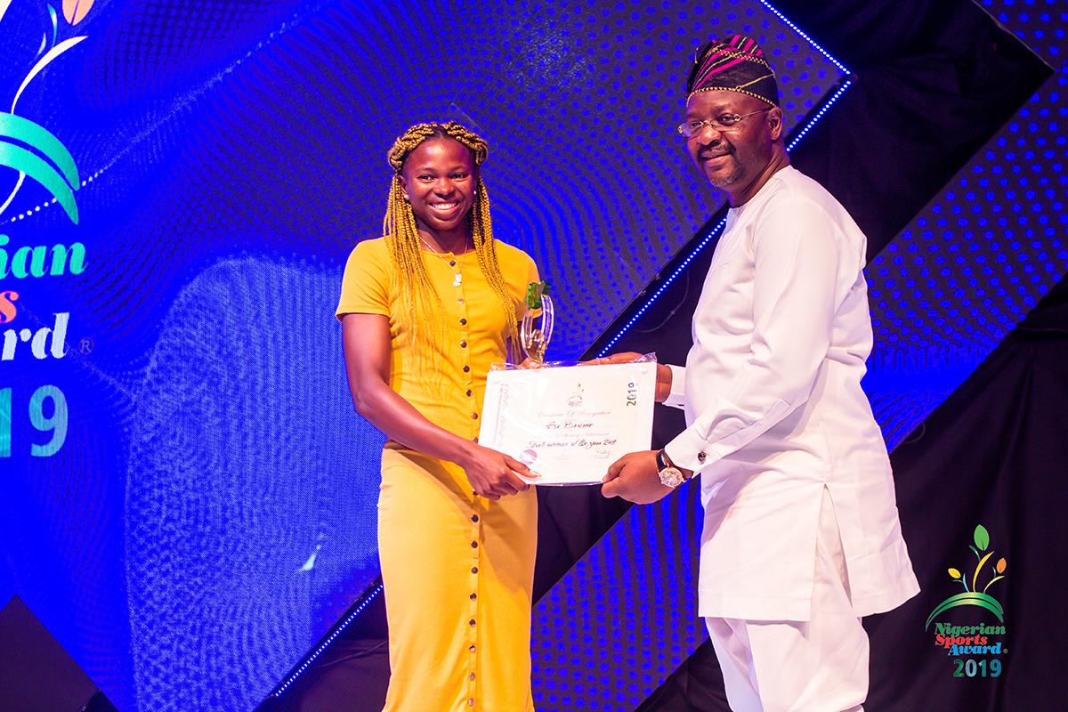 winners of nigerian sport awards 2019