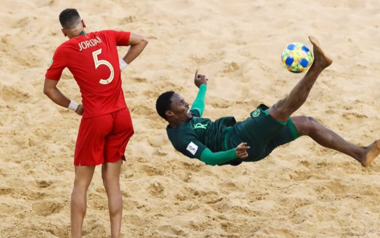 Tale faults NFF approach to suspending Beach soccer