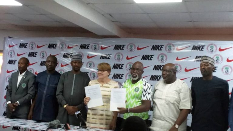 Nike to unveil new Super Eagles jersey in 2020