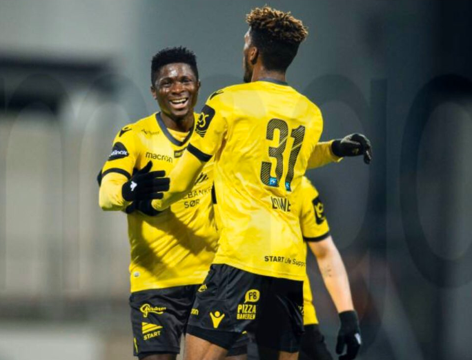 Afeez Aremu stars in IK Start league opener in Norway