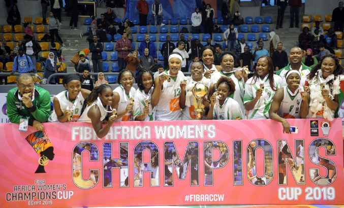 FIBAACCW: Sarah Ogoke, Ferroviario Maputo Crowned African Champions