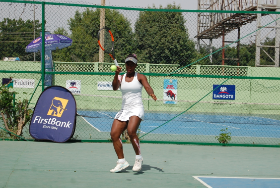 Tennis: Loveth Donatus returns 12 Months after and is Determined to Win Big