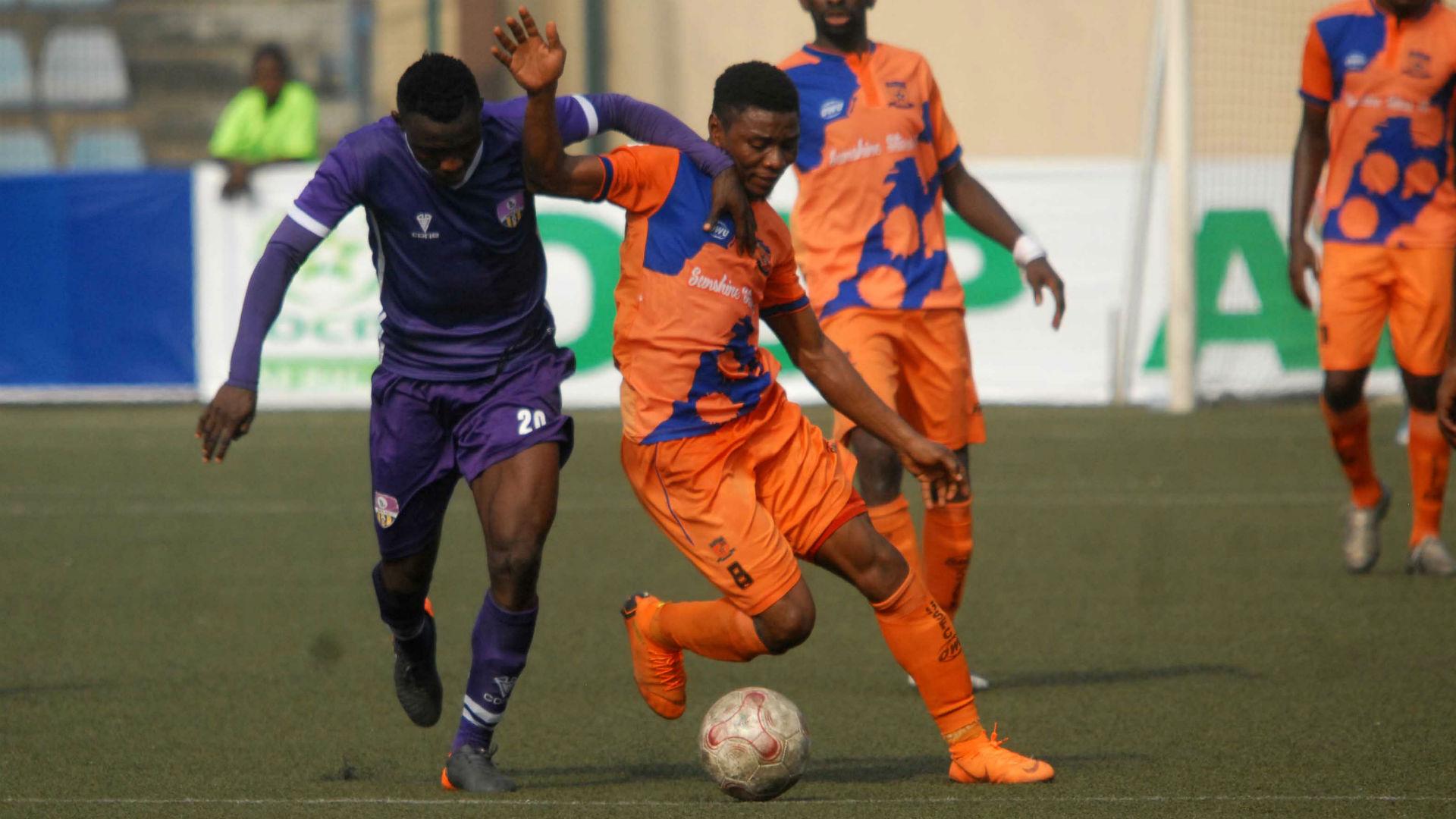 MFM held Sunshine Stars in Akure