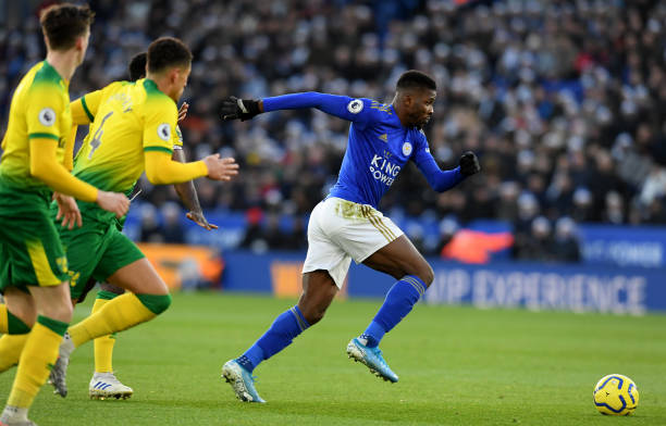 Ikpeba hit out at Iheanacho for over fair play incident