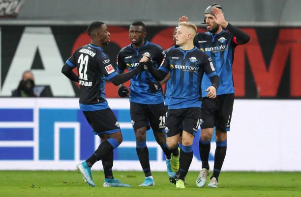 Paderborn 1-1 Union Berlin: Jamilu Collins impresses again for His Relegation Battling Club