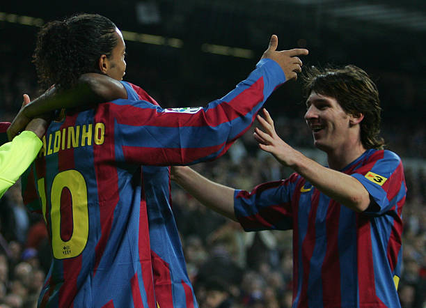 Barcelona Legend Ronaldinho Says Messi is NOT the G.O.A.T, Names Three Players Better than Him
