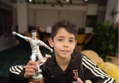 Ronaldo Jr wins first title with Juventus U-9, named best striker of the tournament
