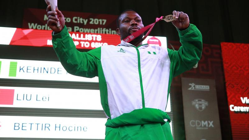 Nigeria's hosting will enhance Para power lifters Olympics qualifying prospects – Kehinde