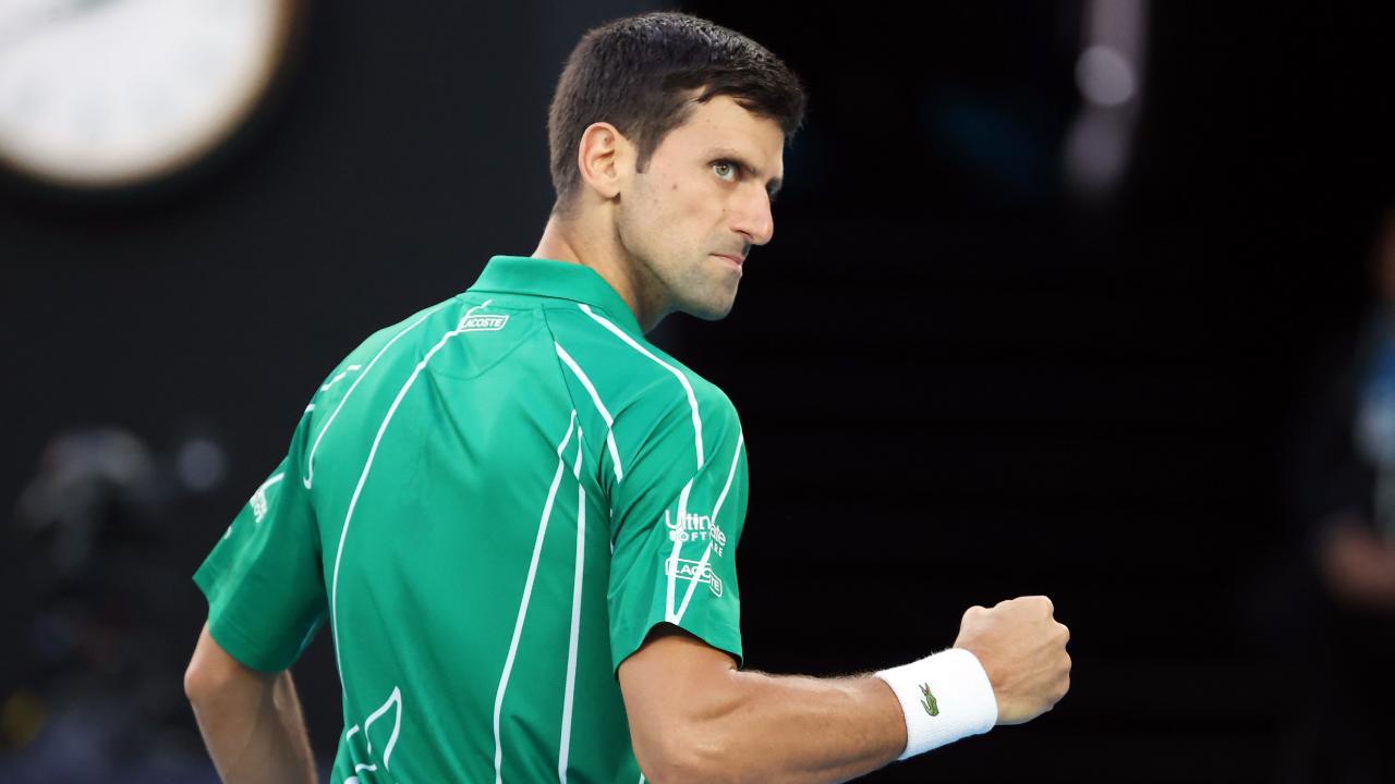 Australia Open: Novak Djokovic sets up semi-final against Roger Federer