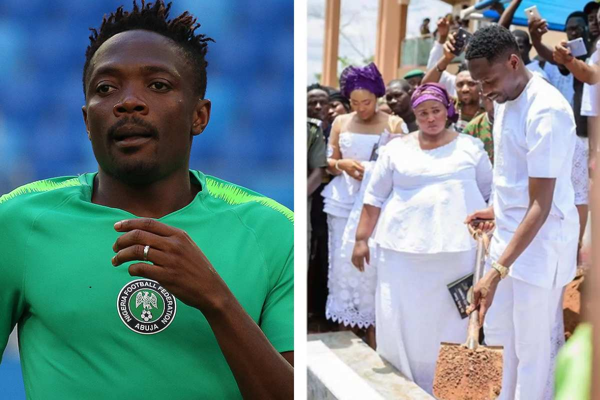 Ahmed Musa remembers late mum one year after death