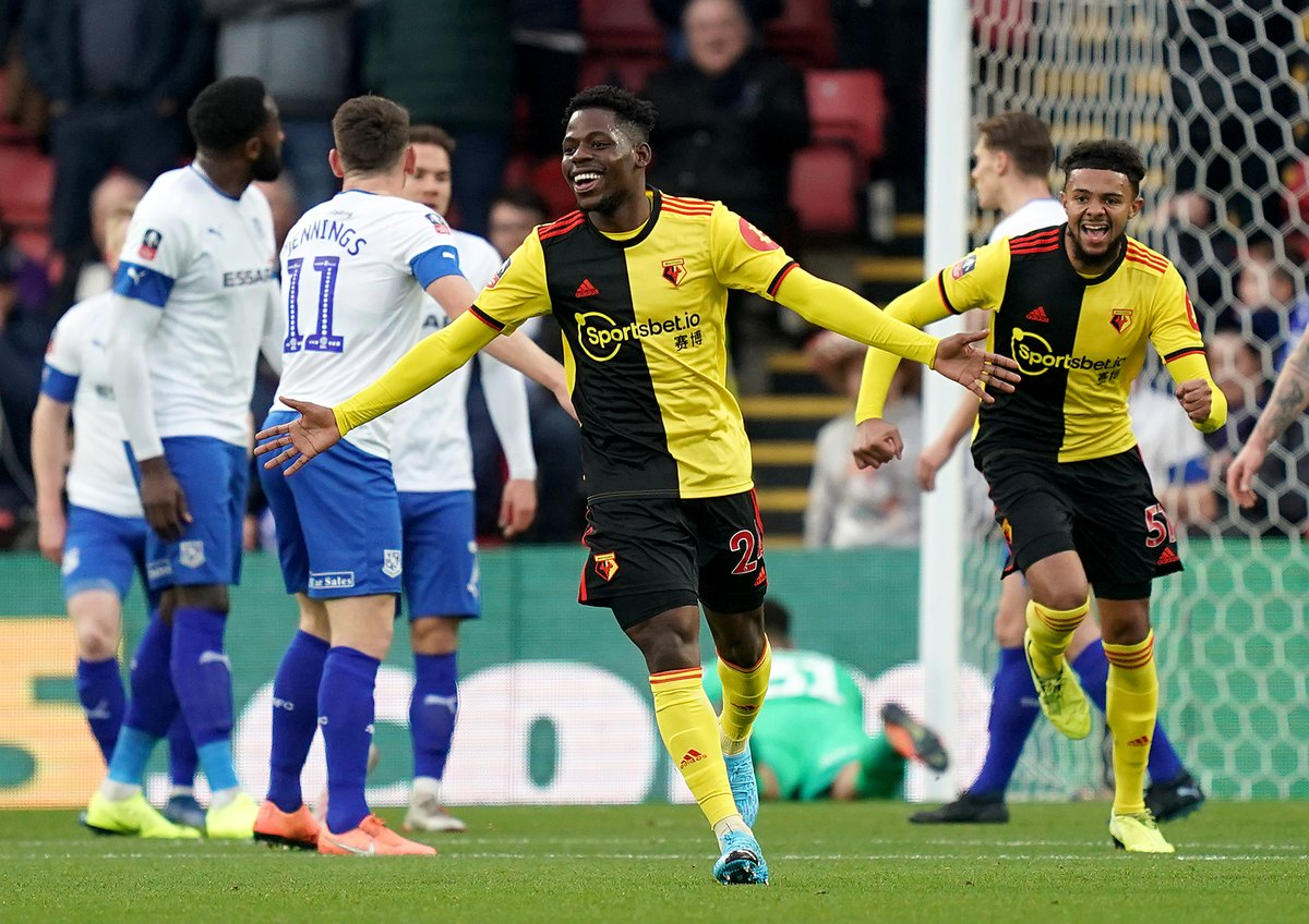 Watford ready to accept loan offers for Isaac Success and Tom Dele-Bashiru
