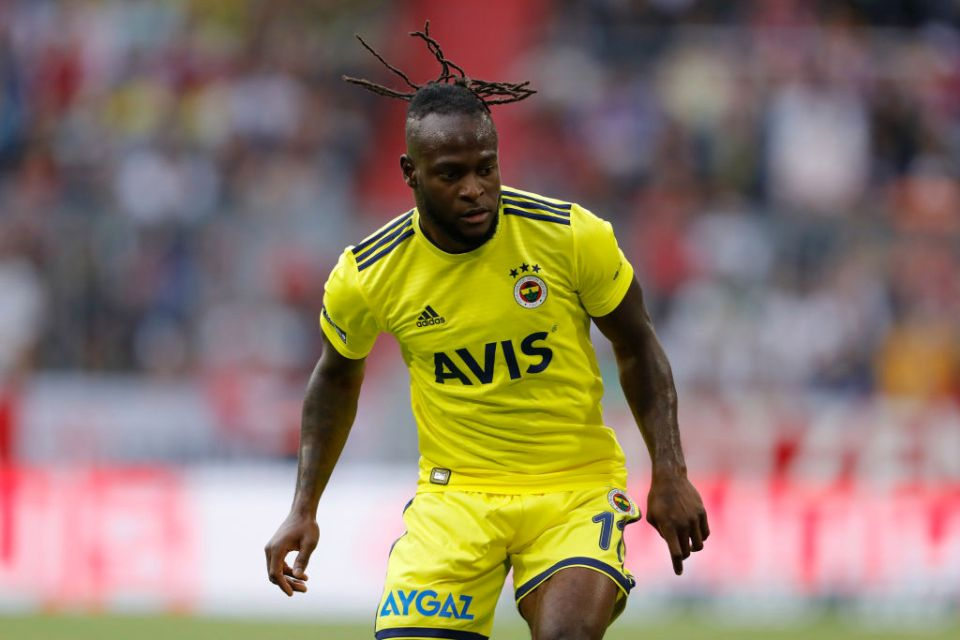 Victor Moses arrives in Milan to complete Inter switch