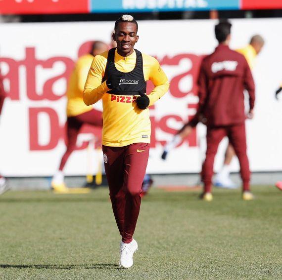 Onyekuru returns to Galatasaray training